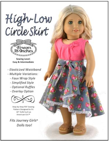 High-Low Circle Skirt 18\