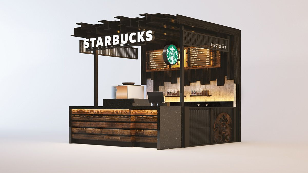 Starbucks on Behance in 2020 Starbucks design, Starbucks