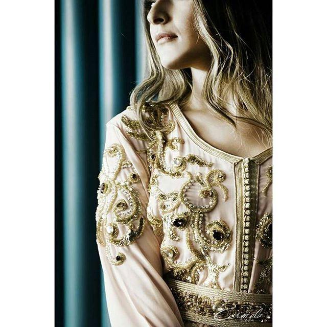Love details !  Styliste : @ablazemmama Photographe : @carmela.photography Mannequin : @rimechoukairidini Makeup : bouthaina alaoui#fashion #followme #fashiondesigner #designer #couture #design #mode #luxe #luxury #ramadan #قفطان #amazing #fashiondetails #hautecouture #beautiful  #wedding #dubai #qatar  #abaya #stylish #luxe #dubai  #kaftan #girl #fashionaddict #caftan #moroccancaftan #handembroidery #gandoura #abayas #morocco #ablazemmama