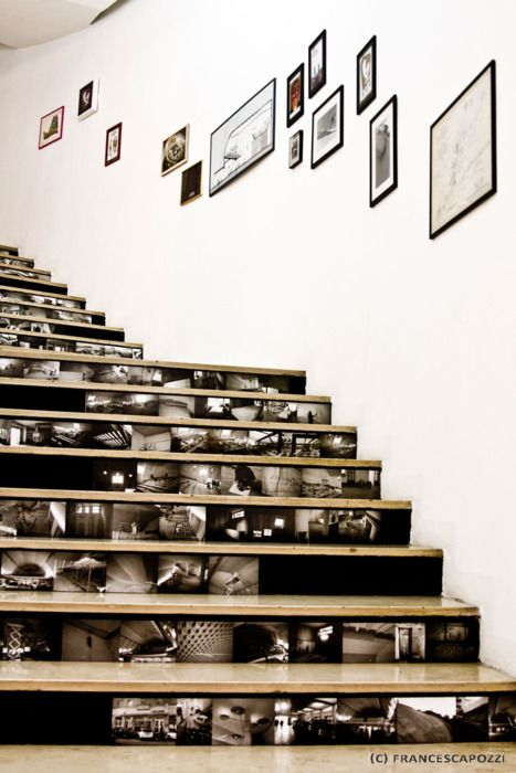 Photo Frame Stairs