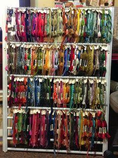 Sunset: Embroidery Floss Storage | STORAGE IDEAS | Pinterest ...