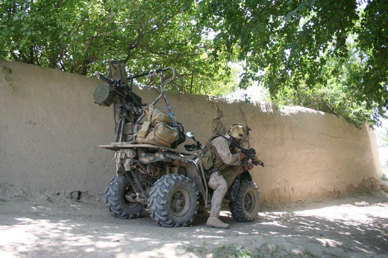 Combat ATV