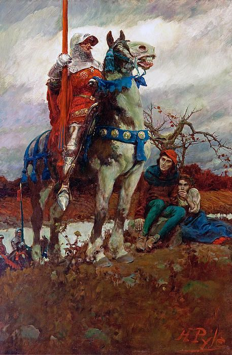 Howard Pyle The Flying Dutchman Giclee Art Paper Print Poster Reproduction