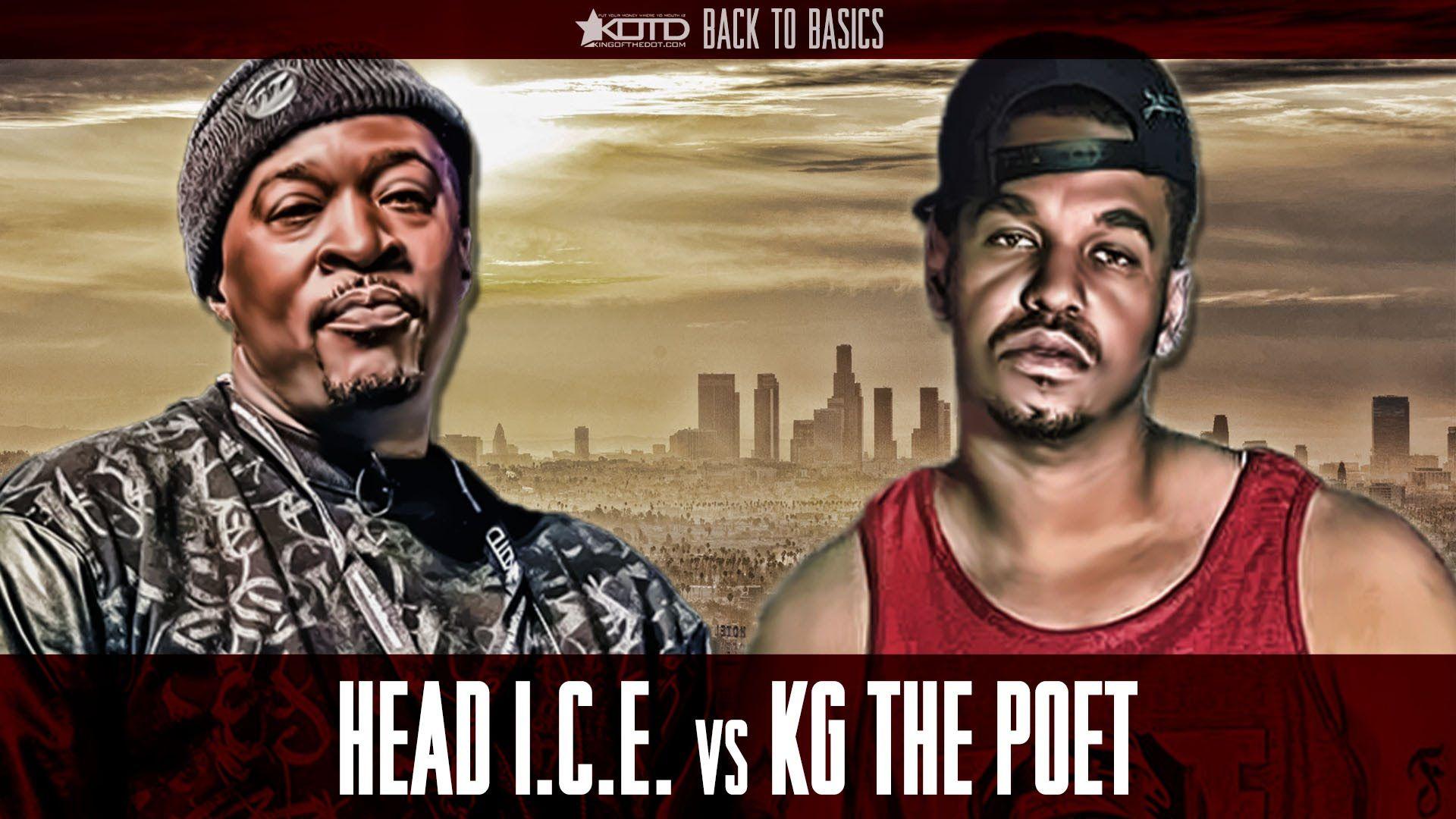 KOTD - Rap Battle - Head I.C.E. vs Kg The Poet