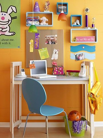 Creating Kids Home Study Centers Kids Desk Space Storage Kids Room Creative Kids Rooms