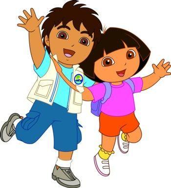 Dora Y Diego Caricaturas Dora Diego Disfraz Dora La Exploradora Pinatas Del Chavo Dibujos De La Infancia