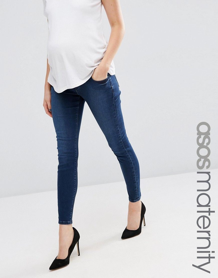 b4265746f7afd Maternity Ridley Skinny Jean In Minx Wash With Under The Bump ...