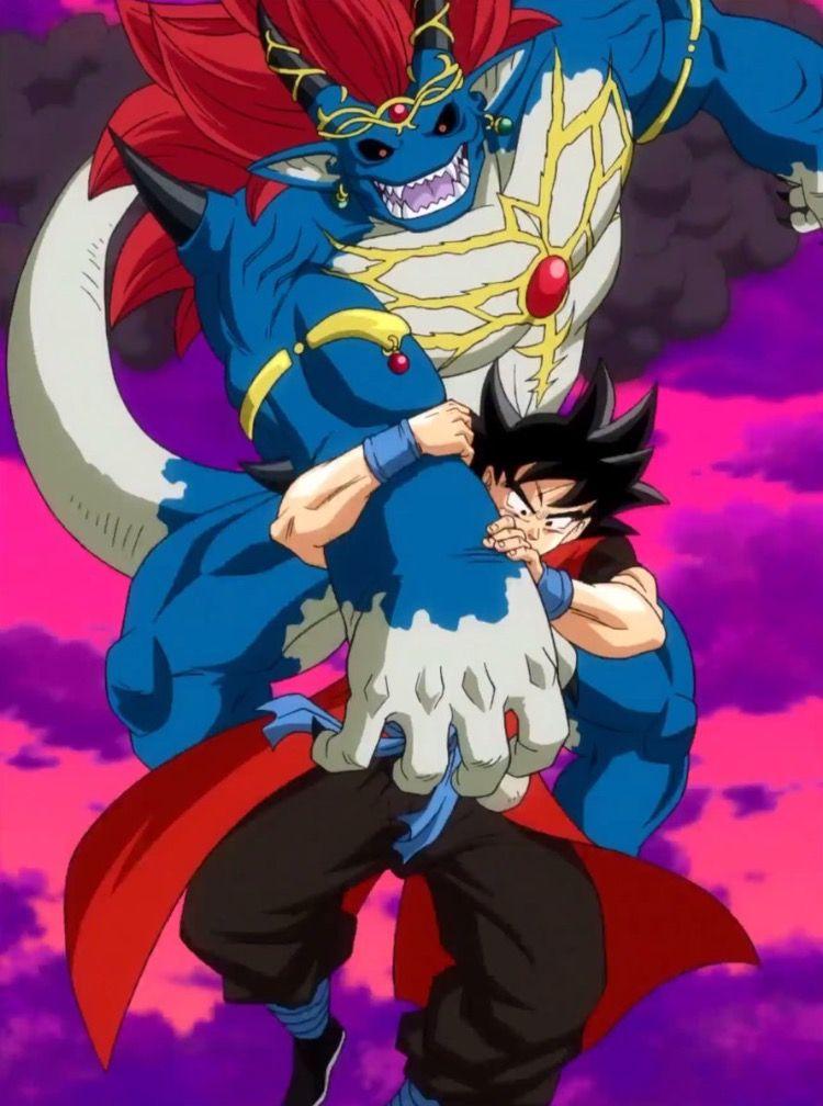 Xeno Goku vs. Demigra