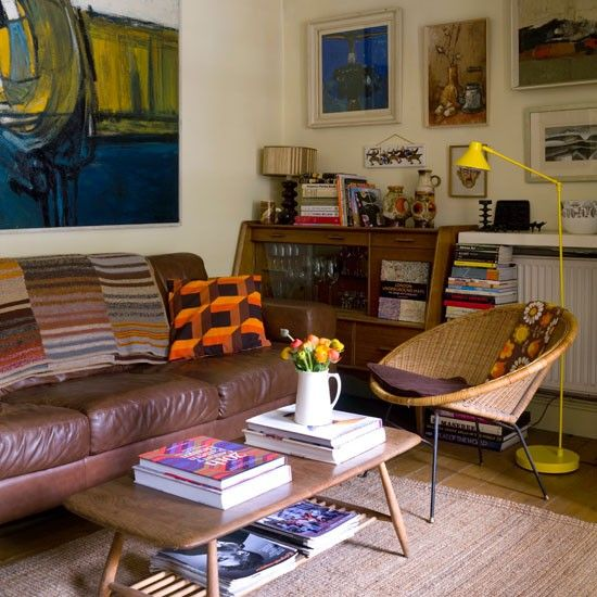 Living Room | Quirky And Eclectic House Tour | Housetohome.co.uk