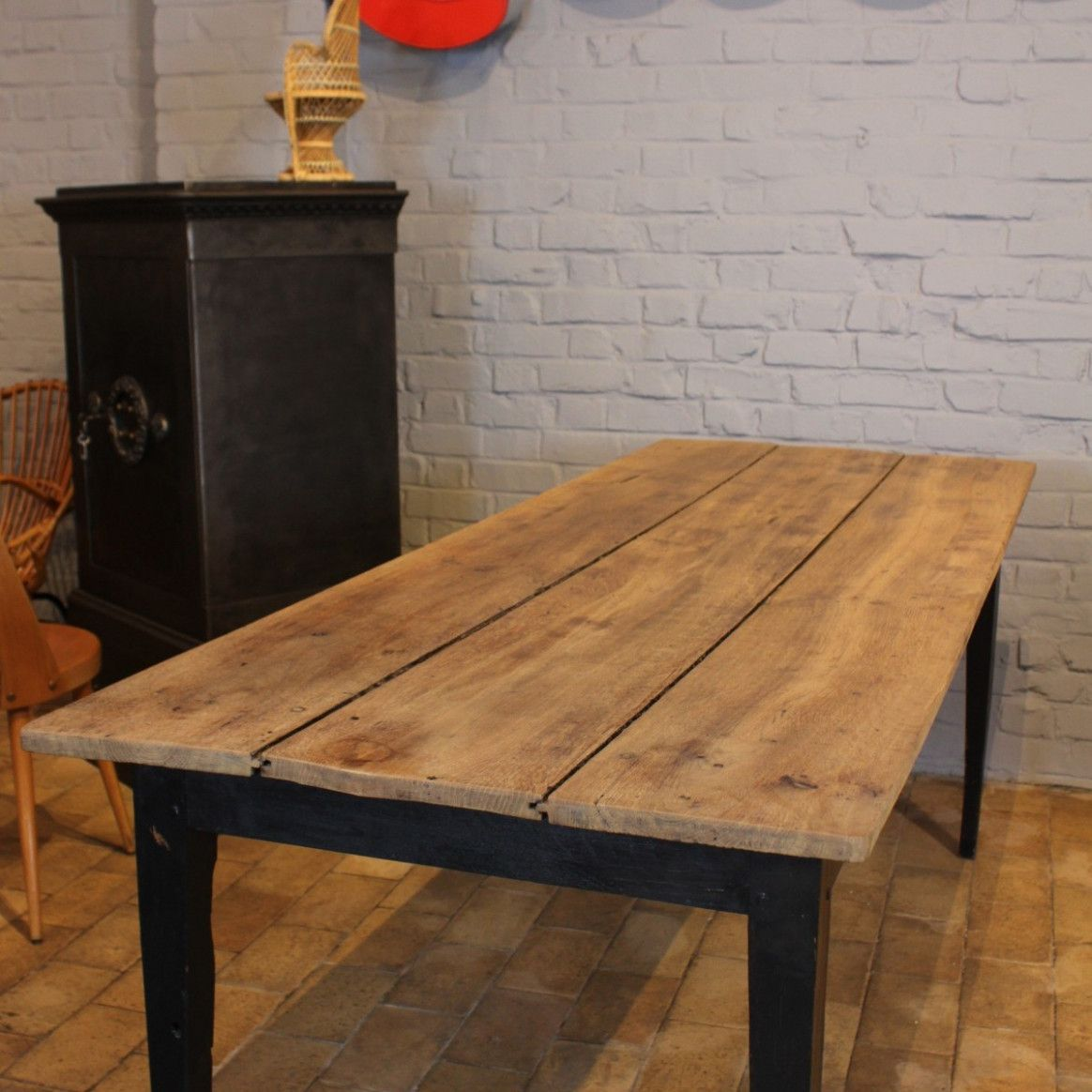 Table De Ferme Xviii   Table, Rustic dining table, Dining table