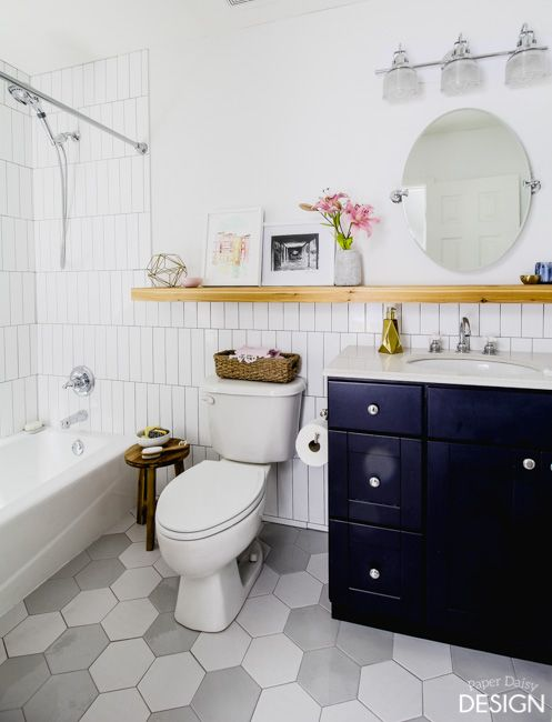 *This Post Is Sponsored By The Home Depot Today, Iu0027m Super Excited To  Reveal Our Latest Bathroom Makeover! If I Were A Student Again, Writing A  Paper On How ...