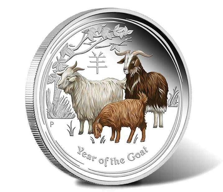 Pin by Cheryl Miller on Goats (With images) Silver coins