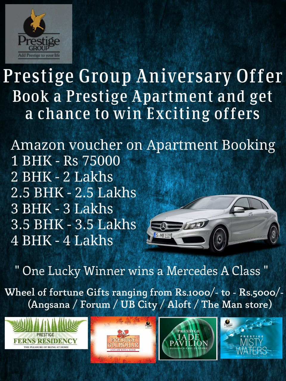 prestige Amazon Vouchers Worth upto