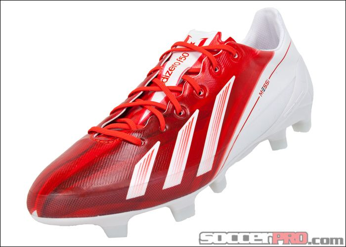 Adidas Youth Messi F50 Adizero Trx Fg Soccer Cleats Red With White 116 99 Adidas Soccer Shoes Soccer Shoes Football Shoes