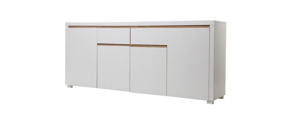 Buffet Design Blanc Mat Sigrid Ce Produit Nest Plus Commercialisé