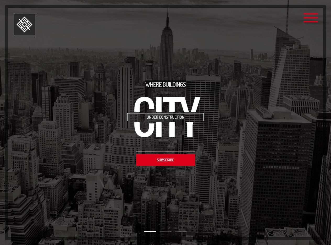 City - Premium Responsive Coming Soon HTML5 Template | Template ...