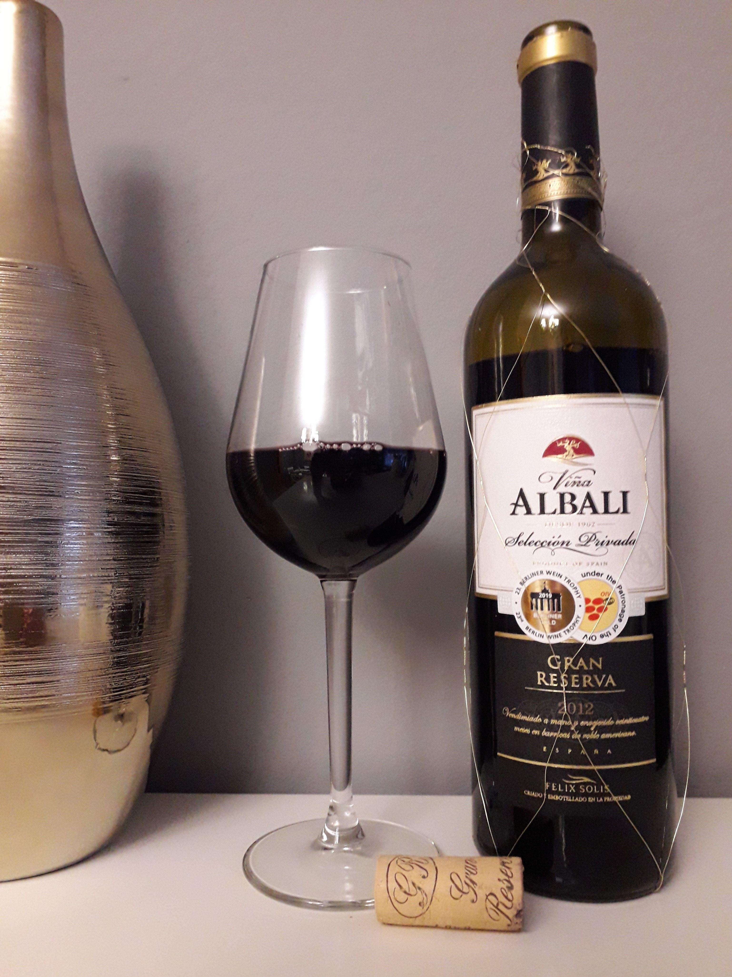 Viña Albali Gran Reserva 2012 Uvas Alcoholica Vinos