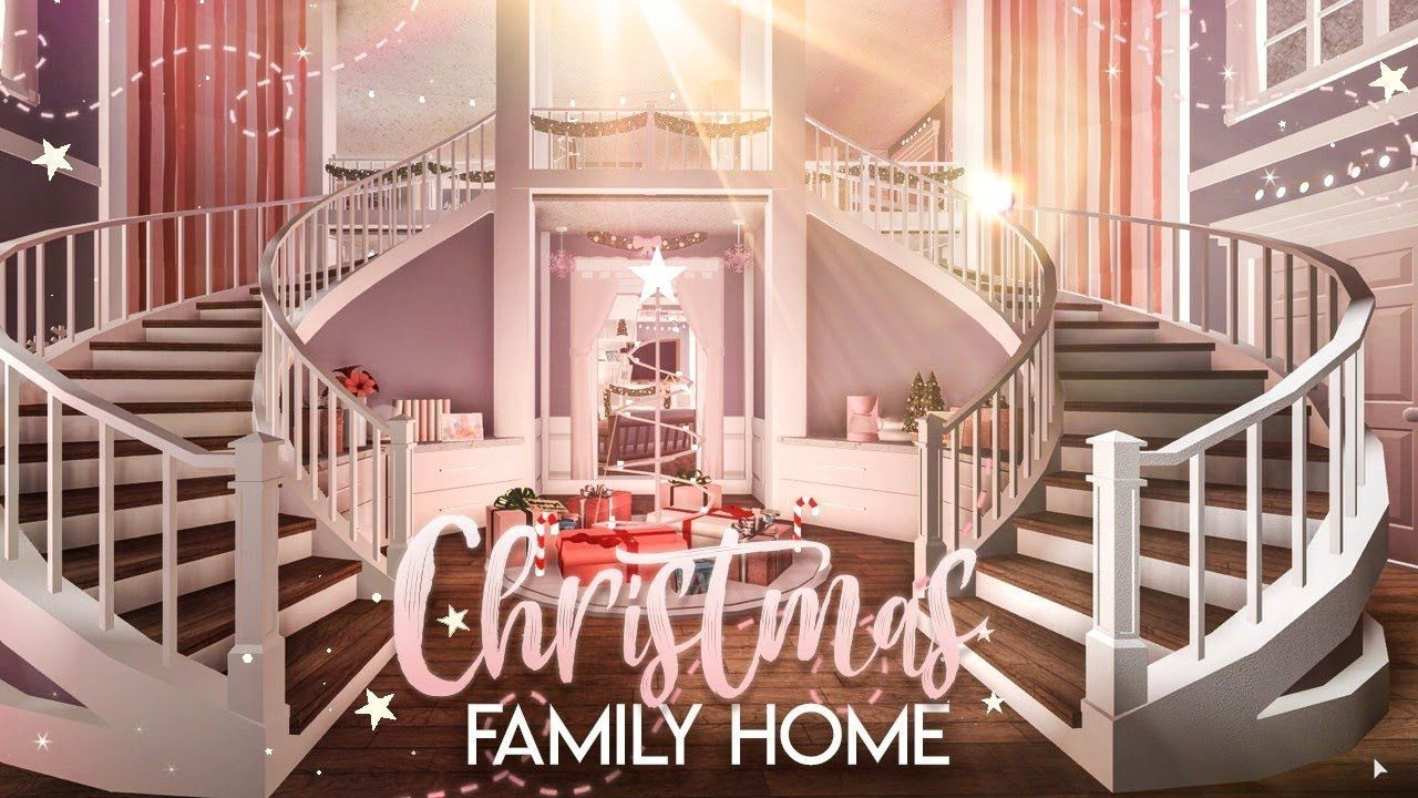 Bloxburg Christmas Family Home House Build Youtube Building A House Two Story House Design Best Modern House Design