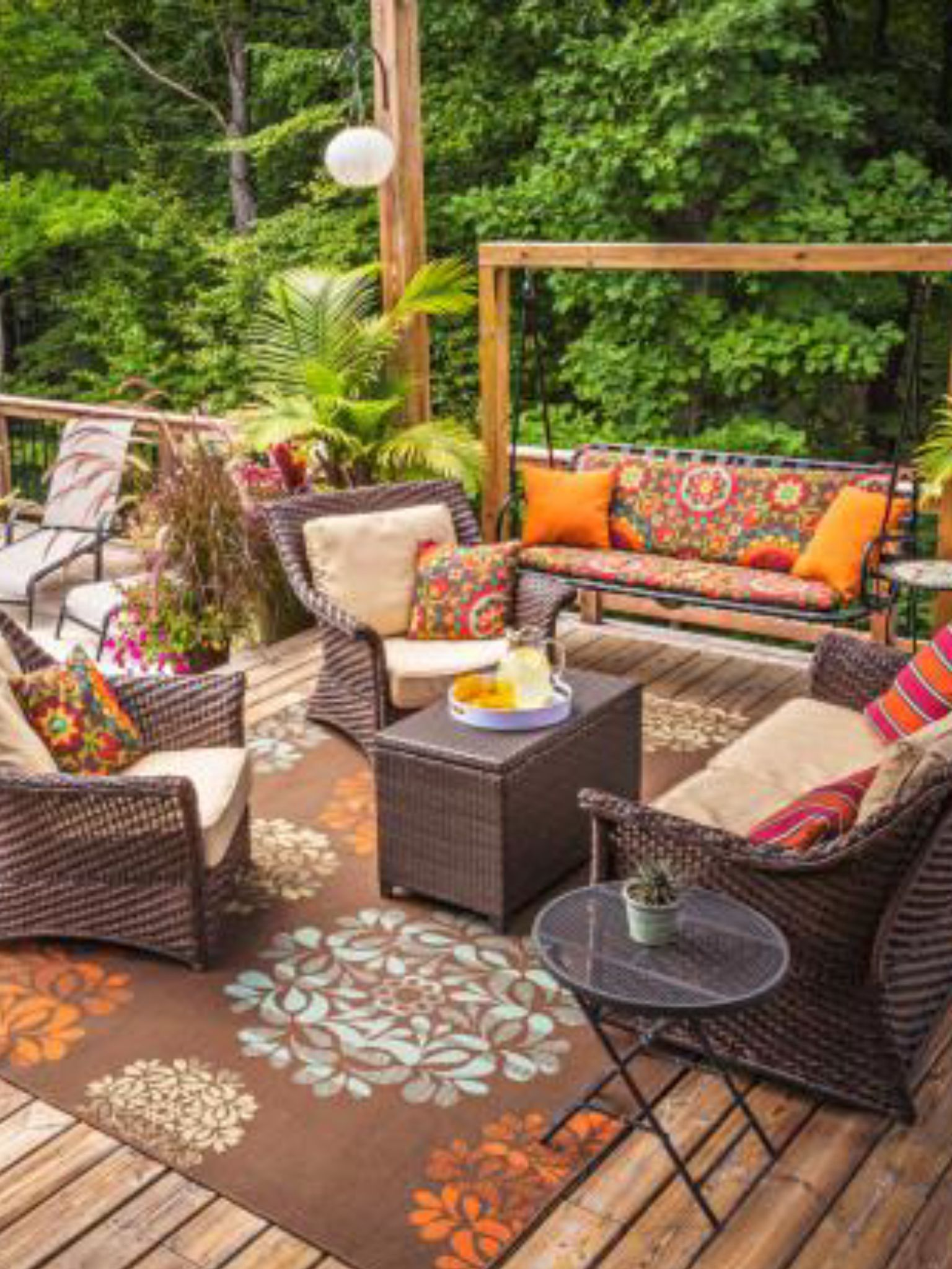 Deck Furniture Ideas Perfect Outdoor Chill Spot Home Is Where The Heart Is