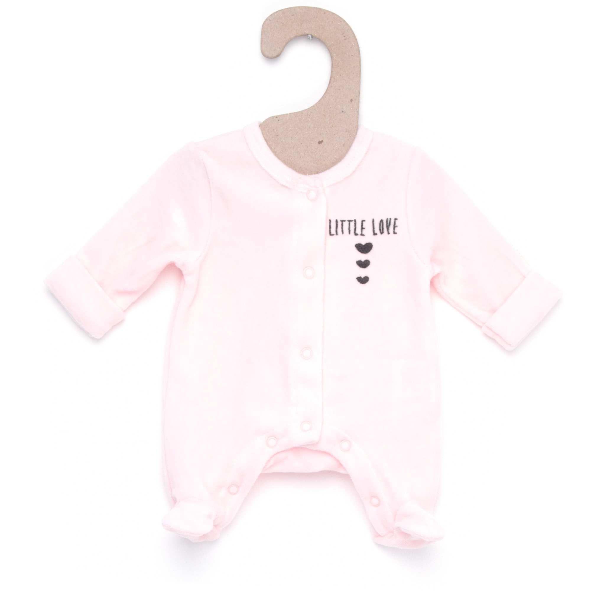 2c03a45c2245e Pyjama velours fantaisie rose 0 mois Bébé fille