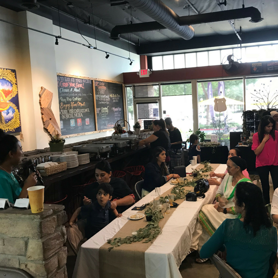 We Love To Create An Atmosphere For Your Special Occasion At Tree Of Life Cafe Bakery We Hosted This Zen Themed Baby Sh Tree Of Life Life Baby Shower Themes