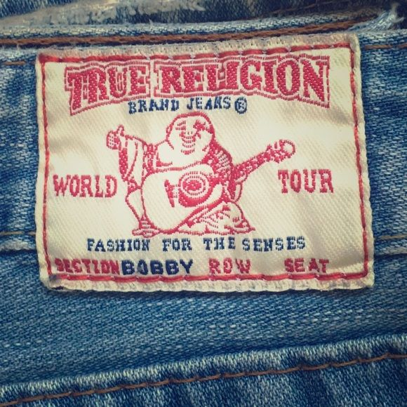 Women's True Religion jeans Very soft, flare style jeans 100% cotton True Religion Jeans Flare & Wide Leg