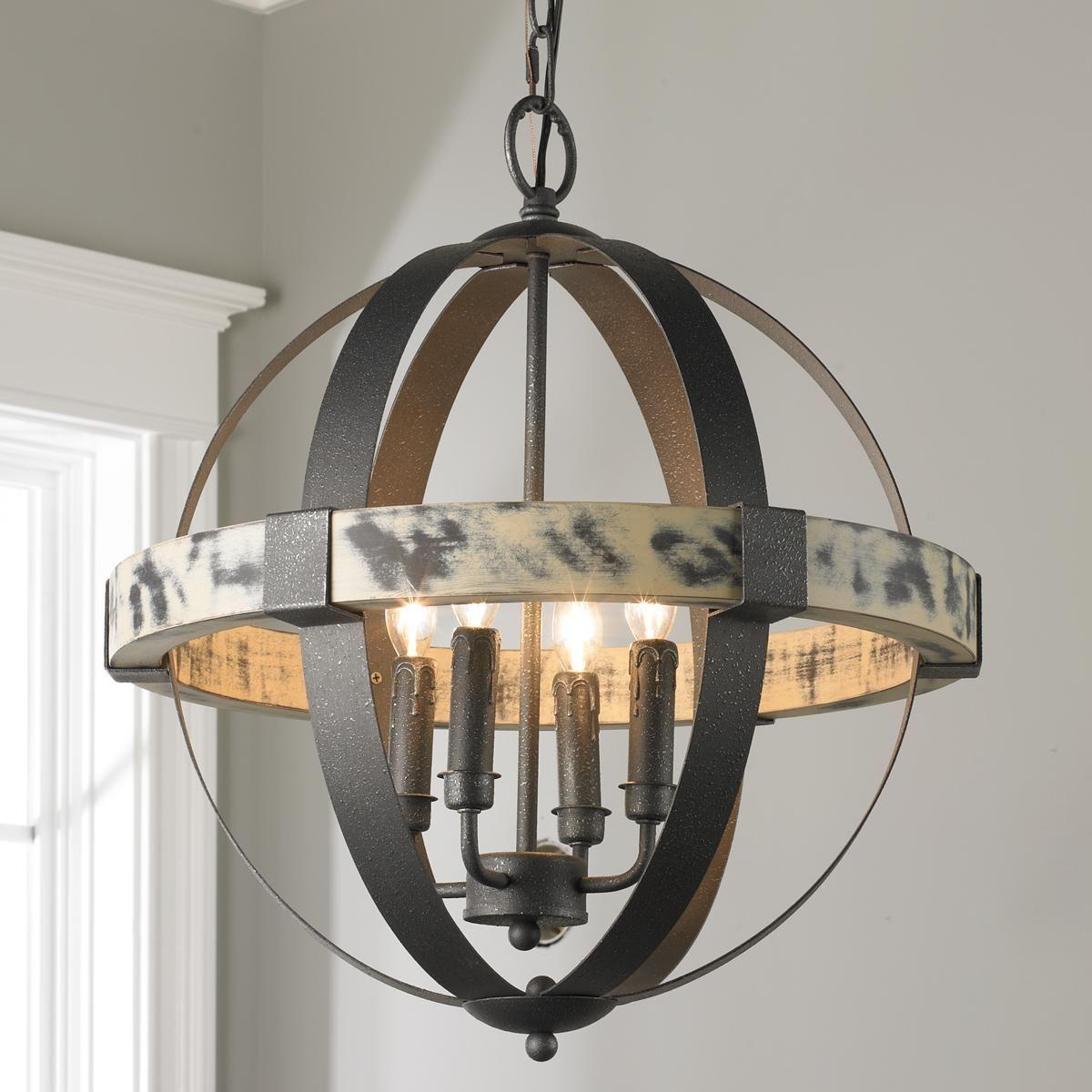 Aspen wrought iron globe chandelier small wrought iron aspen aspen wrought iron globe chandelier small arubaitofo Image collections