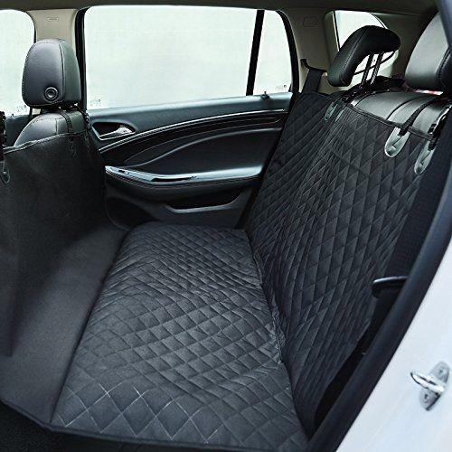 Cheap Geepro Pet Dog Car Rear Back Waterproof Seat Cover Blanket Protector HammockAll Black
