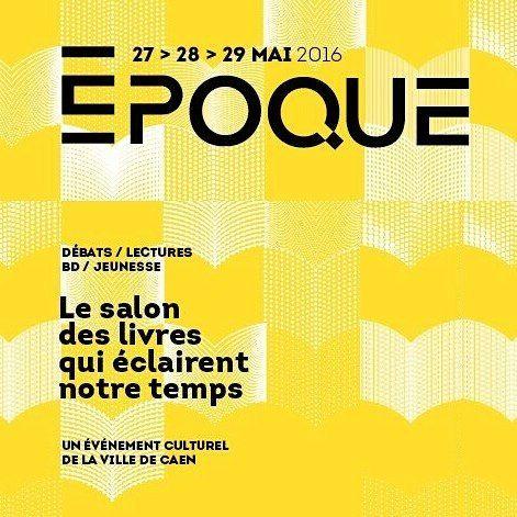 Le Salon des livres commence ce weekend !  Toute la prog sur caen.fr/epoque #caen #Caenlamer #normandie #calvados by caenlamer