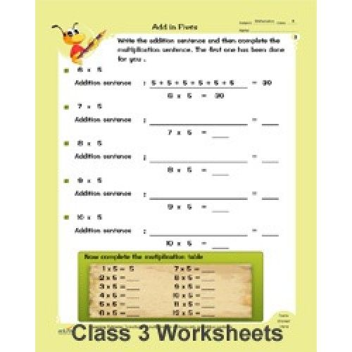 Grade 3 WorksheetsBest collection of worksheets for class 3 kids – Maths Worksheet for Class 3