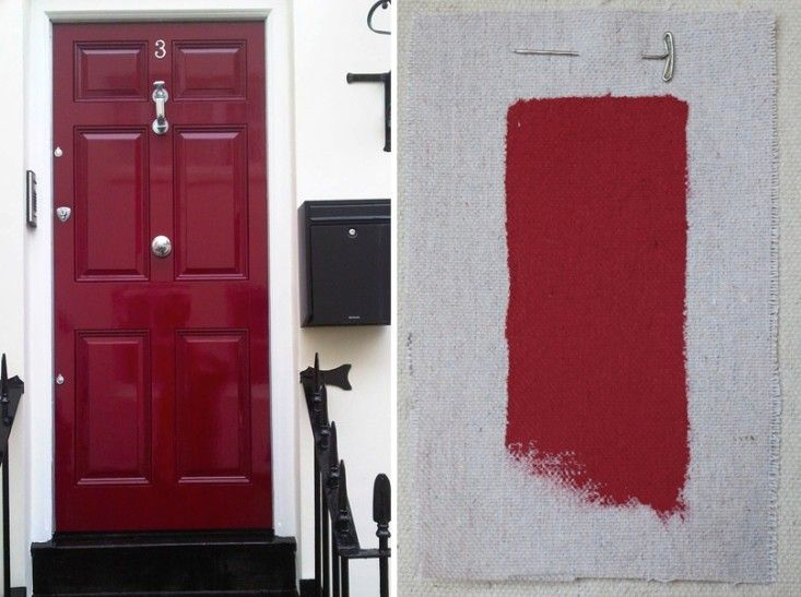 Best Exterior Outdoor Red Paint Colors, Farrow & Ball Rectory Red ...