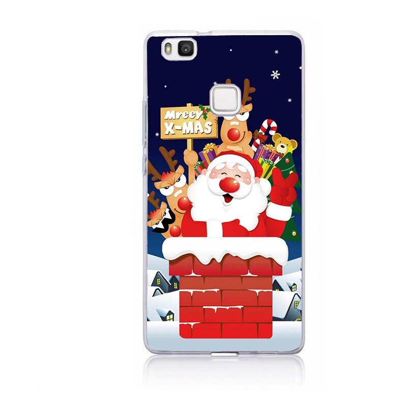 Case For Huawei P Smart Mate 10 Lite Christmas Cute Anime Soft ...