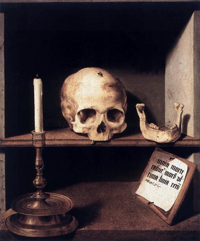 Très Barthel Bruyn l'ancien, Vanité, 1493-1495 | Skull Art | Pinterest  LY08