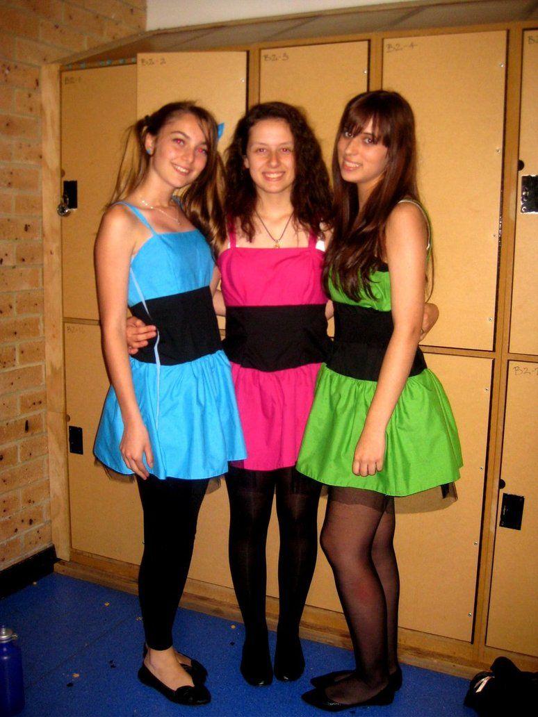 Powerpuff Girls costume idea   College!   Pinterest   Powerpuff ...
