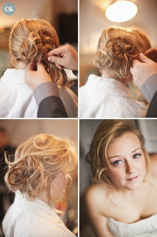 Diy Wedding Hairstyle With A Little Up Everlasting Hairstyle