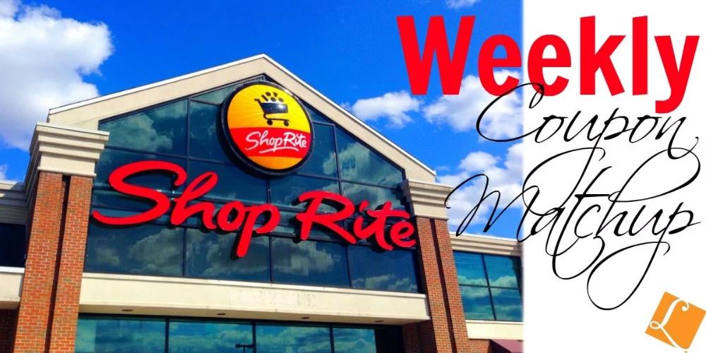New ShopRite Match Ups that will Help You Save Big Week