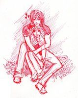 My Sweet Valentine by ~cristinaice on deviantART - Derek and Chloe -The Darkest Powers series - Kelley Armstrong - Fan Art