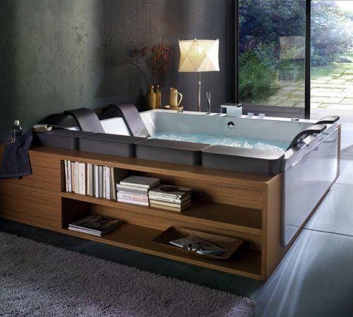 Jacuzzzzzzi Indoor Hot Tub Bathtub Design House Design