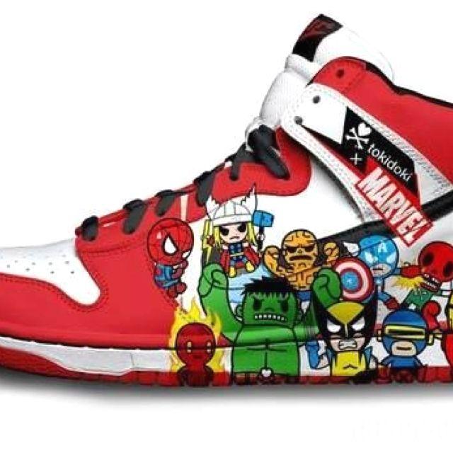 Marvel ShoesShoes E AvengersNerd Nike Life 0mnw8yNOv