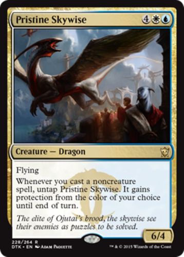 Mtg Blue White Ojutai Dragon Deck Magic The Gathering Rare Cards