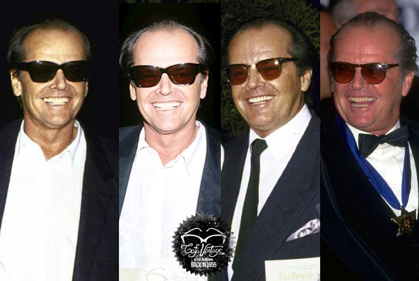 95826fad9ec4 jack nicholson sunglasses - Google Search   Celebrity eyewear   Mens ...