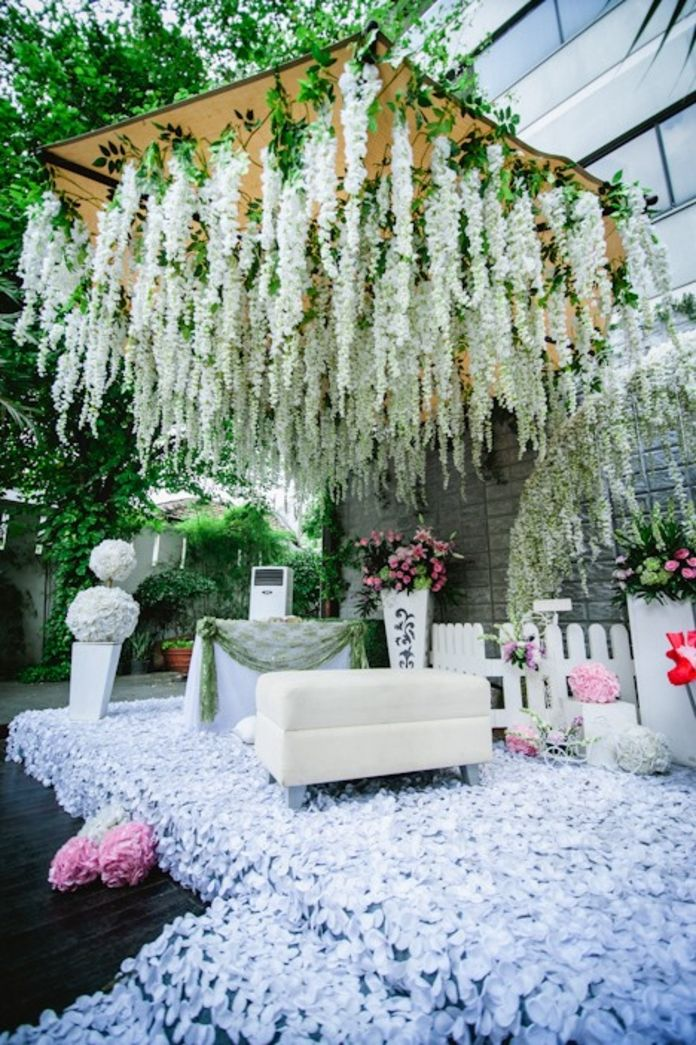 Pastis Jakarta Wedding venues, Outdoor wedding venues