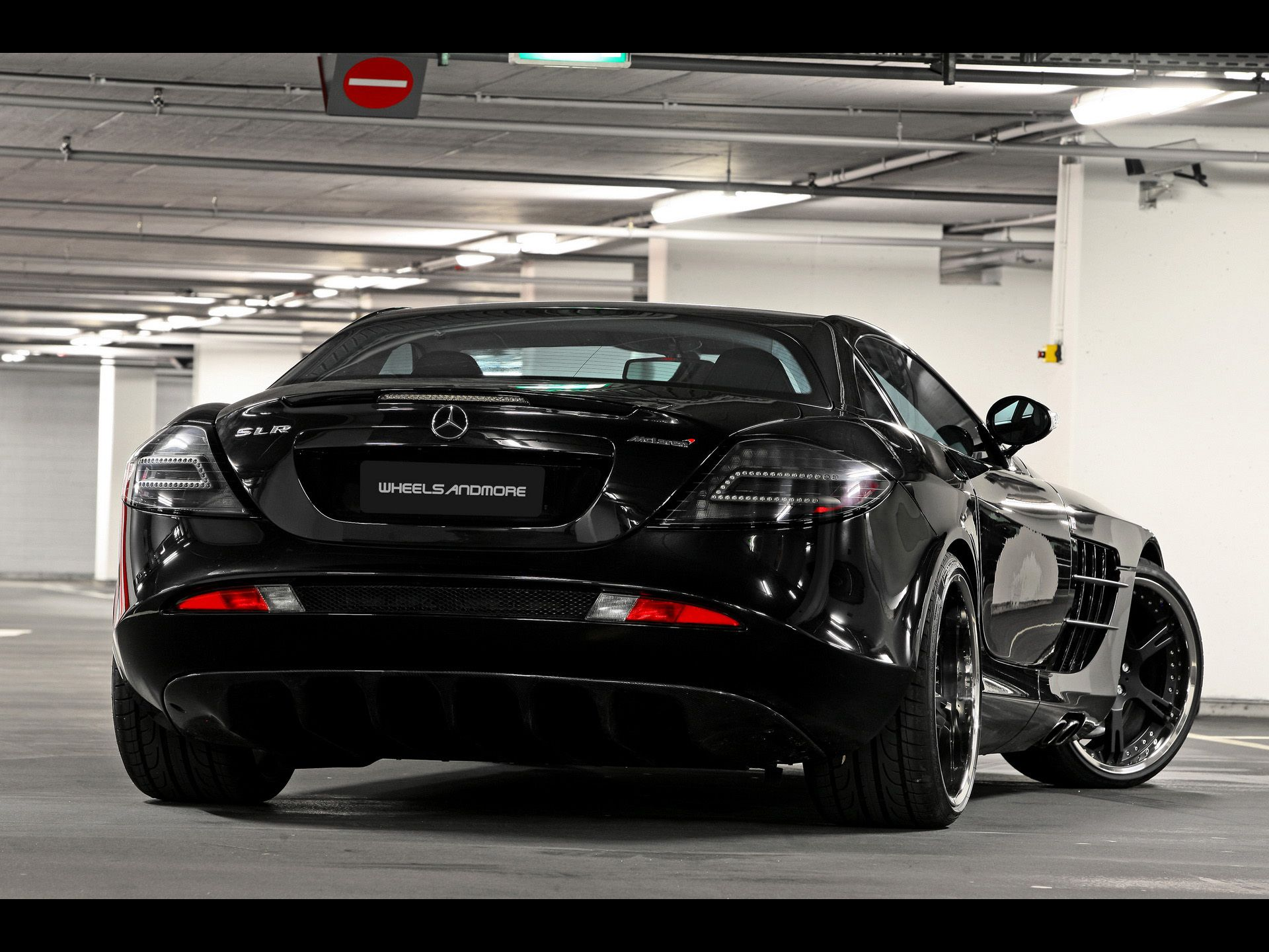 2012 Wheelsandmore Mercedes Benz Slr Mclaren 722 Epochal Rear