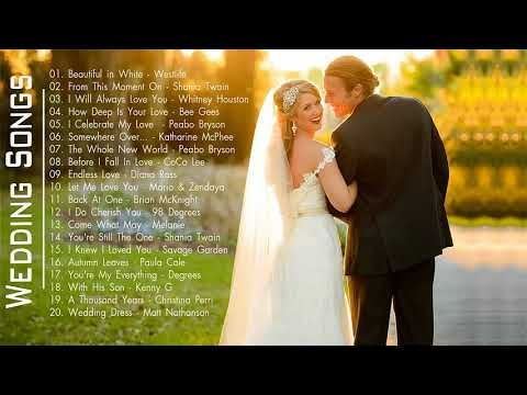 Best Wedding Songs - Wedding Love Songs Collection - Love Songs Ever ...