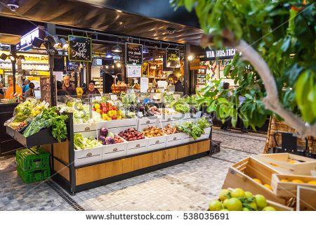 Image Result For Modern Market Stalls