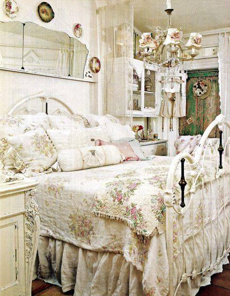 ... Cottage Stil Schlafzimmer, Ländliche Schlafzimmer, Schlafzimmer  Einrichtungsideen, Landhaus Dekoration, Shabby Chic Vintage, Diy Ideen Für  Die Wohnung