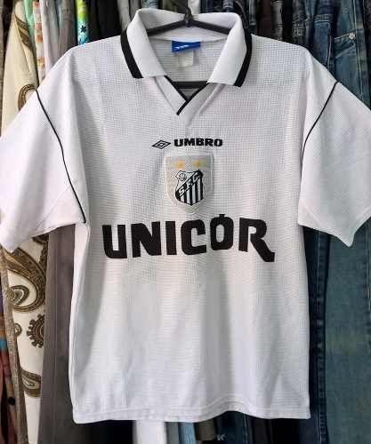 f3656bf79 Camisa Santos Futebol Clube 1999 Umbro Usada Original Material Esportivo  Umbro