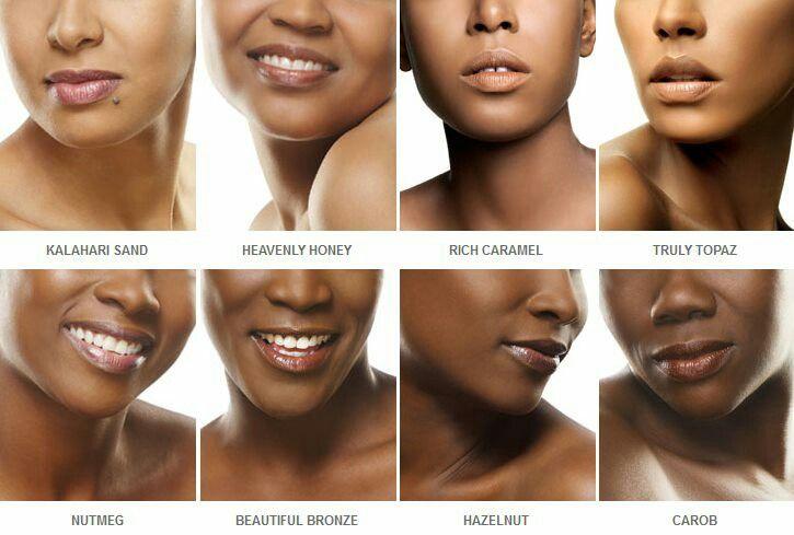 Black Opal Shade Chart Bake S L A Y Makeup Makeup Tips Dark Skin