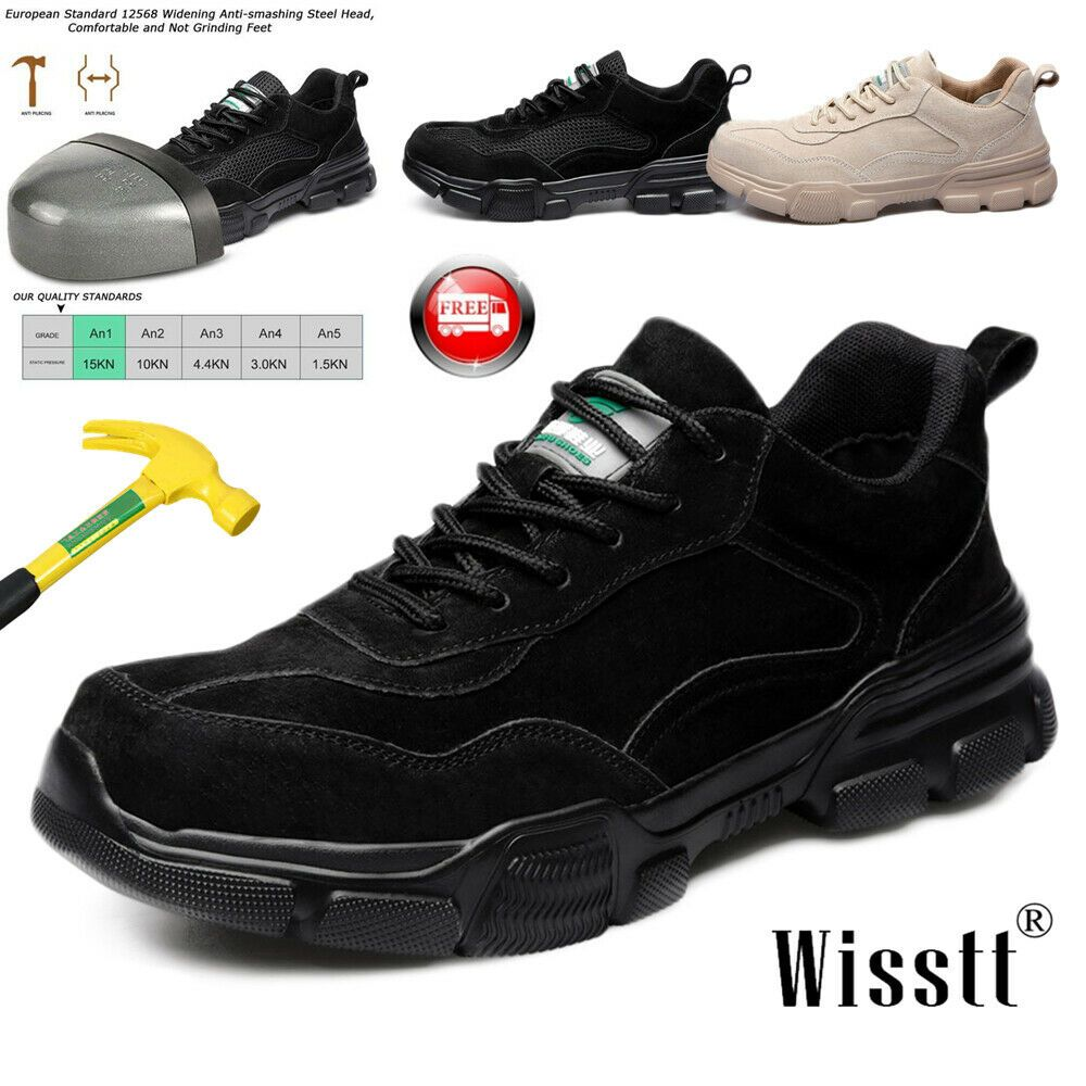 03048ed801e Ad)eBay - Men Safety Shoes Steel Toe Work Boots Indestructible ...