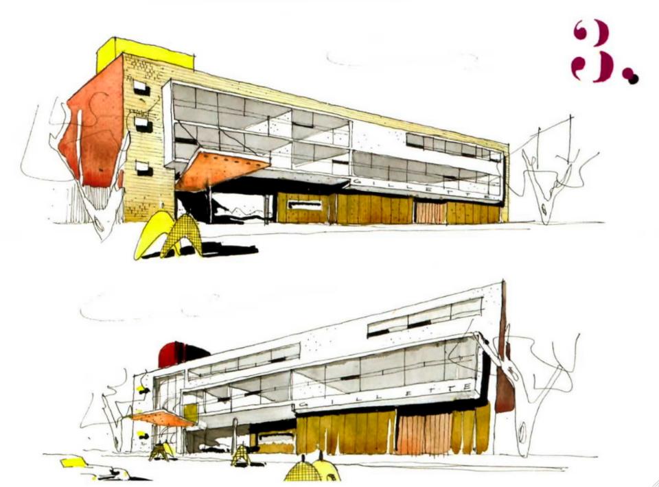 Edificio de oficinas para Gillette de México Augusto H. Alvarez